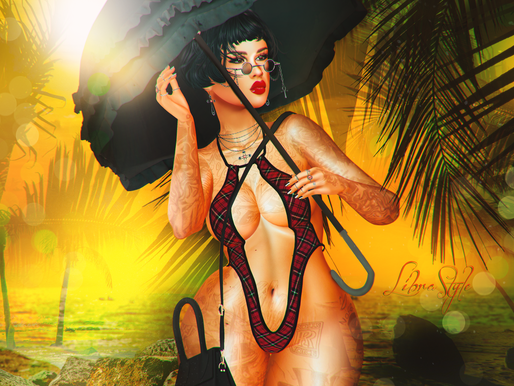 LibraStyle 600: Goth on the Beach