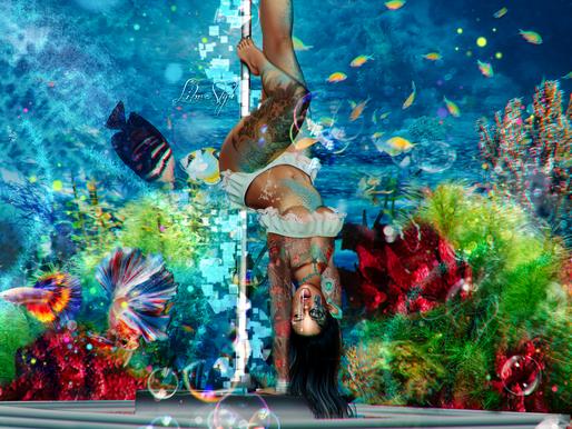 LibraStyle 601: Naughty Mermaid Stripper