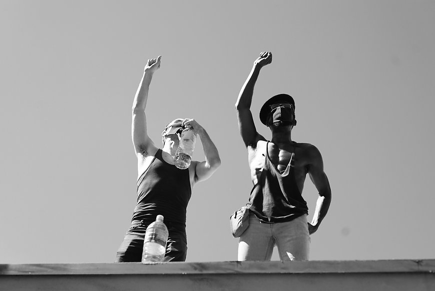 Solidarity from the Roof BW.jpg