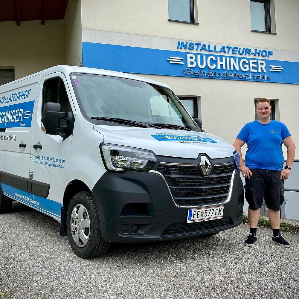 Lehrlinge Installteurhof Buchinger 2019