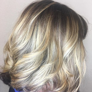 Root melts and highlights on the end! Ca