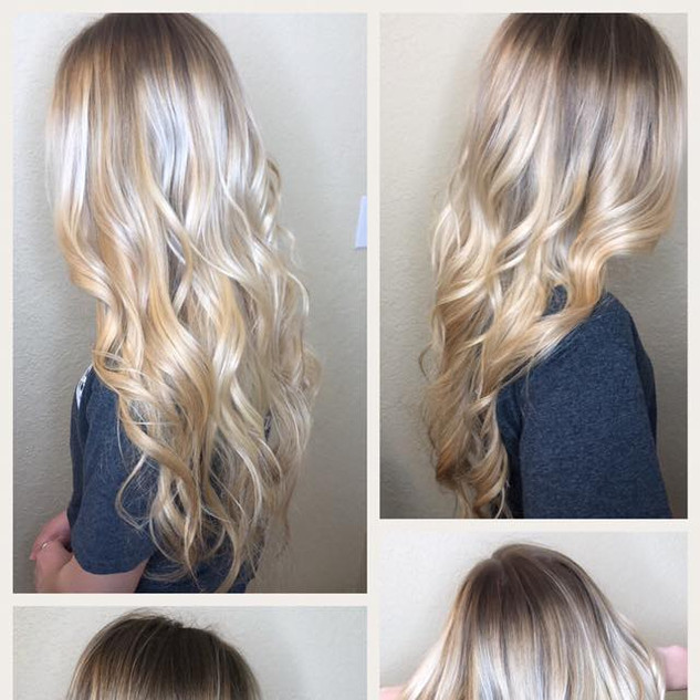 Root Refresh with Full Balayage