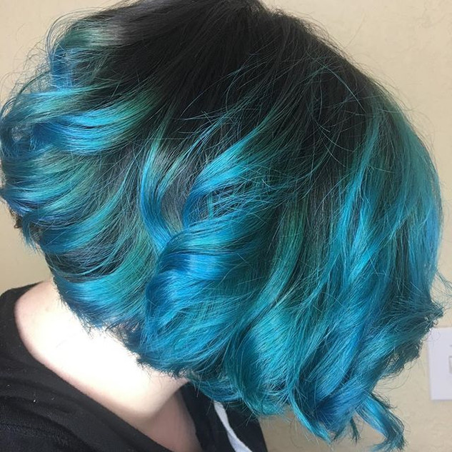 Blue hair don't care! Call for your appo