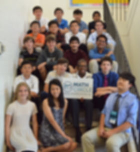 math summer camp students 2018