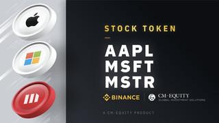 Криптовалютная биржа Binance добавит токенизированные акции Microsoft, Apple и MicroStrategy