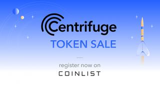 С 26 по 31 мая на платформе Coinlist пройдет в порядке очереди токен сейл Centrifuge (CFG)