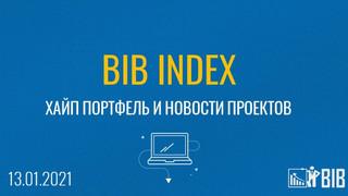 Хайп портфель BIB INDEX, обзор и новости проектов на 13.01.2020 года