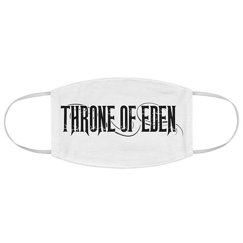Throne Of Eden White Face Mask