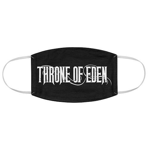 Throne Of Eden Black Face Mask
