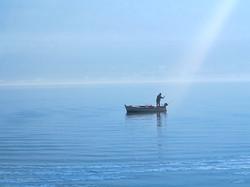 Fishing in the bay of Kotor