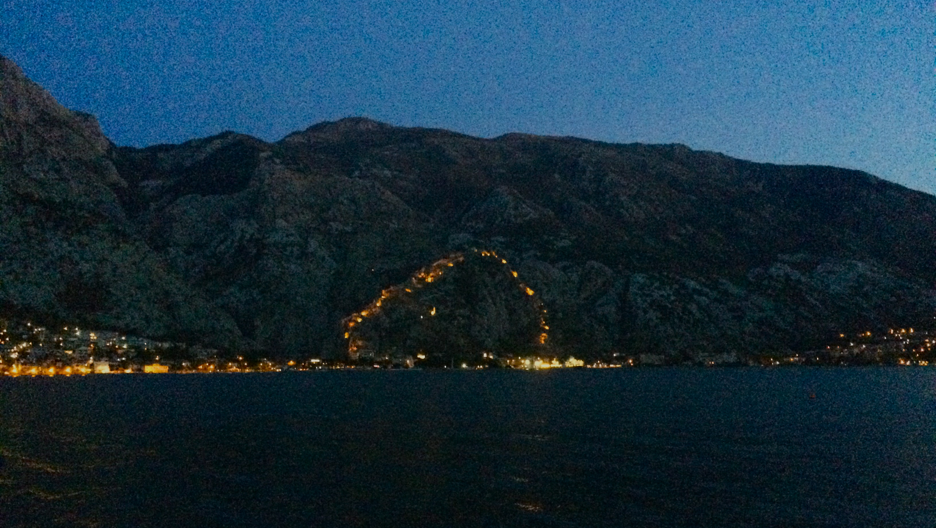 The lights of Kotor