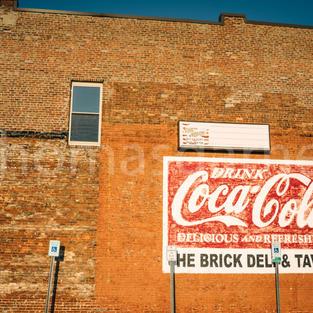 The Brick Coca-Cola Sign