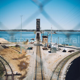 Decatur Train Bridge Tracks