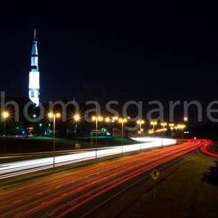 U.S. Space & Rocket Center Long Exposure