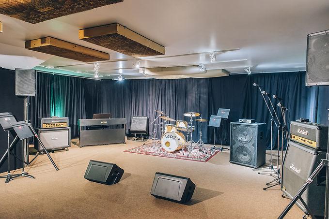 Réservez notre studio «Le Métropolis» en ligne ou au 514-769-6515 - Musicopratik Verdun