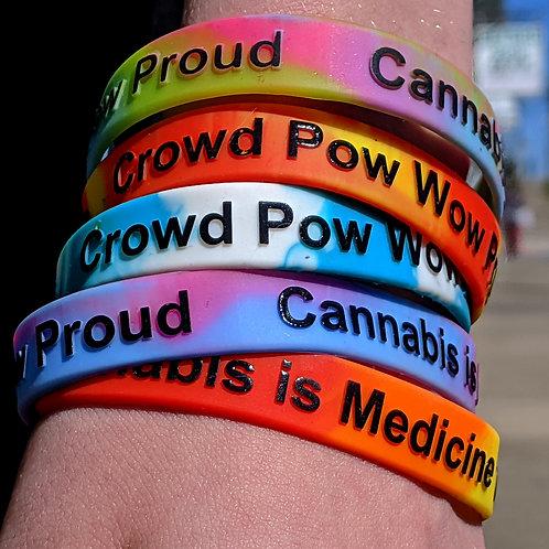 "CPWP Wristband ""Cannabis is Medicine"""