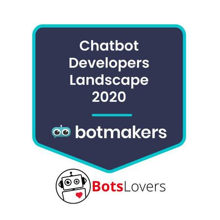 BotsLovers entre las 5 mejores empresas de bots en España según Botmakers