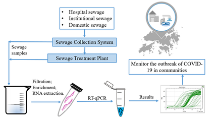 HKU Engineering-led team to study methodology and practices on detecting COVID-19 virus for sewage
