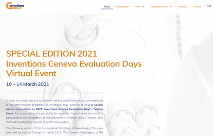 Our Sewage Testing Tool for SARS-CoV-2 Won A Gold Medal @ The 2021 Inventions Geneva Evaluation Days
