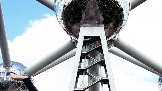 Belgique : En route vers l'Atomium ! Symbole de Bruxelles !