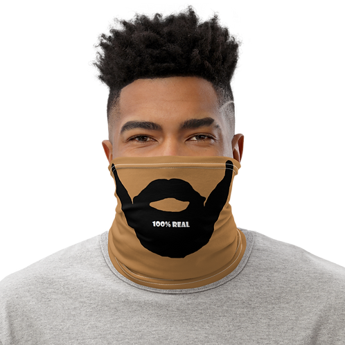 100% Real Beard Neck Gaiter Tone 2