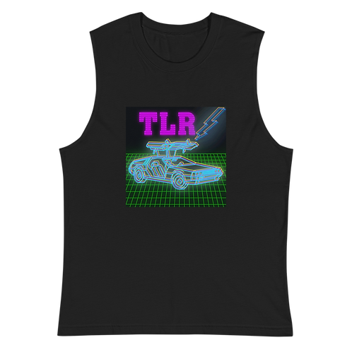 Back to the Gains TLR Blue DeLorean Tank