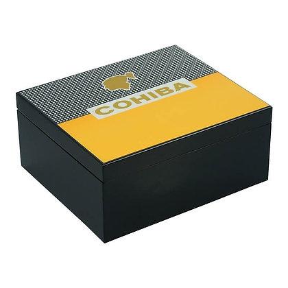 25 CT COHIBA Wooden Cigar Box -  SH-1280 S- BL