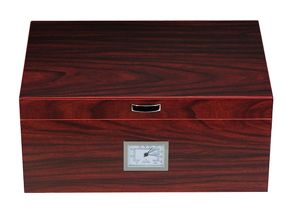 Walnut Wooden Humidor with Mahogany lining -  SH-1444W