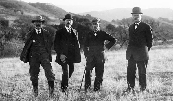 Les fondateurs de Solvang