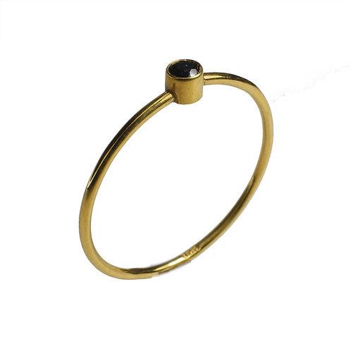 Onyx Yellow Gold 18K Ring