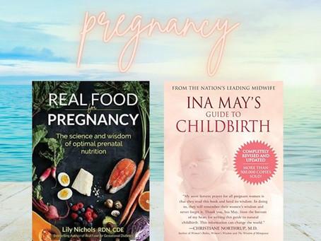 Brittany's Favorite Prenatal and Postpartum Books