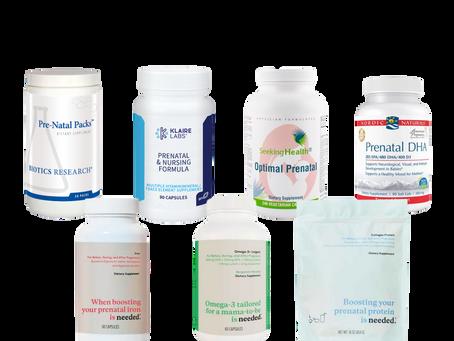 Prenatal Vitamins & Supplements
