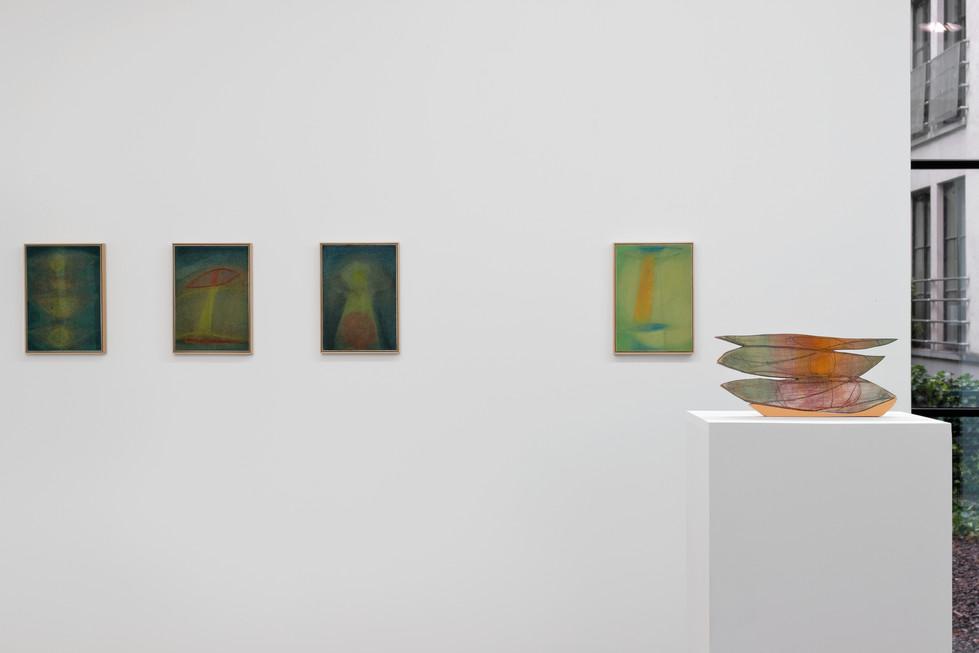 Julien Saudubray, Dear Tcherenkov, Waldburer Wouters, June 30 - July 30, 2021, exhibition view
