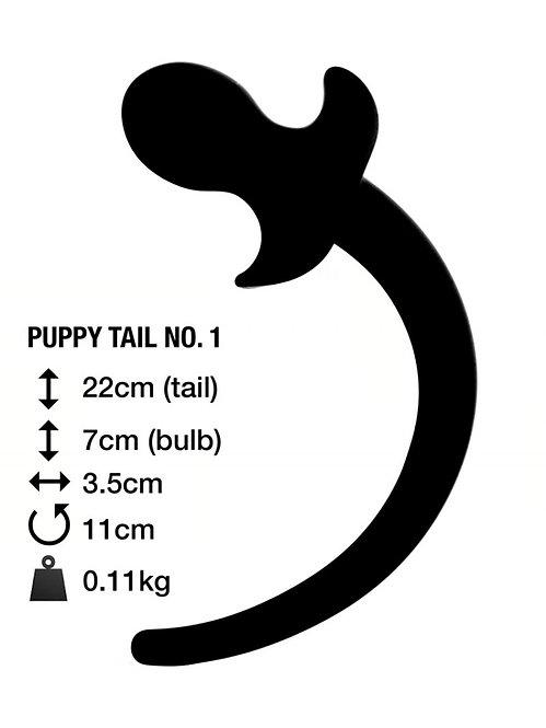 Анальная пробка с хвостом PUPPY TAIL №1 Великобритания