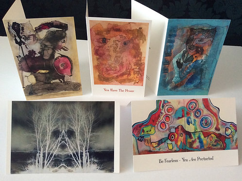 Boxed Art Cards