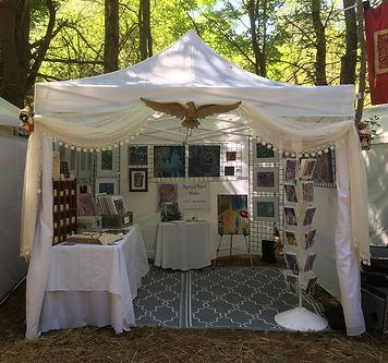 Art show tent