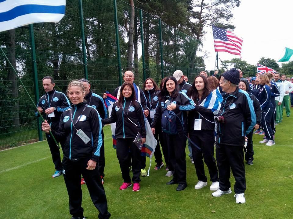 Delegación uruguaya en Belfast