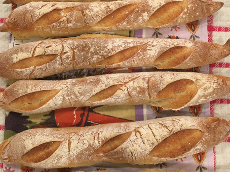 Imagine the smell of homemade french baguettes in your kitchen!