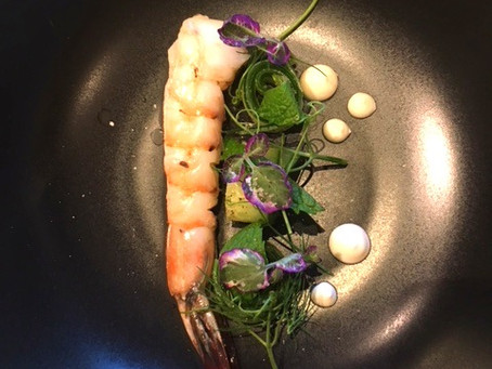 Baja Shrimp- the perfect summer dish