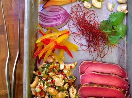 San Diego Personal Chef Yoann loves fresh ingredients