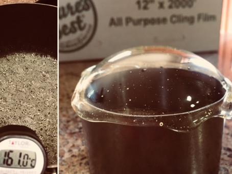 Sugar-glass dome
