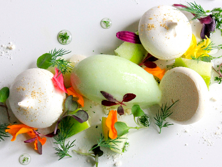 Granny Smith apple and dill