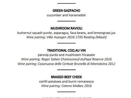 San Diego Personal Chef Yoann: 6-course tasting menu