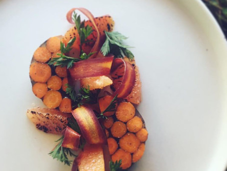 New starter dish- Personal Chef Yoann Taboyan