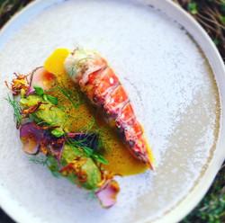Lobster with Saffron