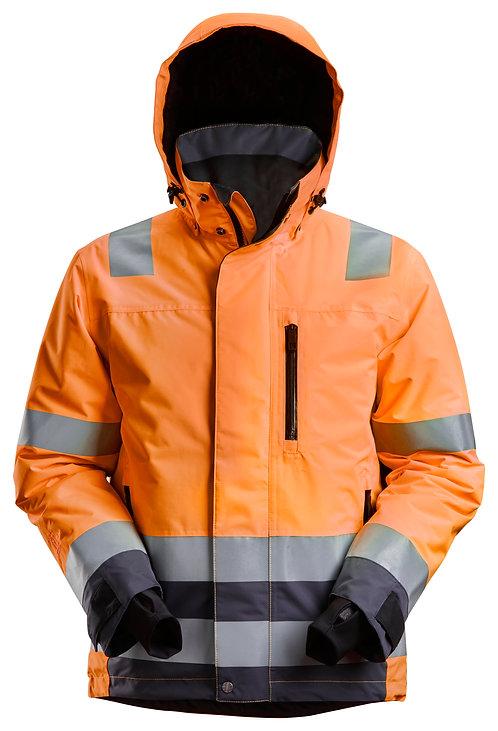 1132 AllroundWork, High-Vis Waterproof 37.5® Insulated Jacket Class 3