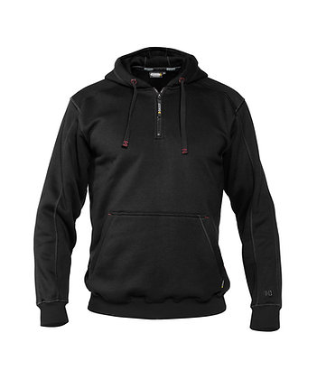 DASSY® INDY Hooded sweatshirt reinforced with canvas
