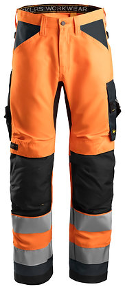 6331 AllroundWork, High-Vis Work Trousers+ CL2