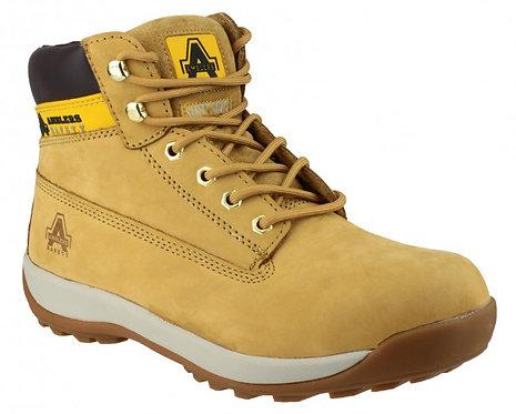 FS102 Honey Nubuck Lace Boot, Pad Top
