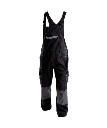 DASSY® VOLTIC Two-tone brace overall with knee pockets
